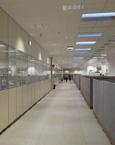 pareti mobili per uffici operativi con pareti divisorie in vetro