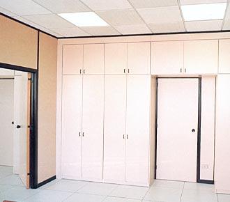 Pareti mobili divisorie per ufficio simag - Mobili separatori ...