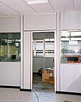 parete mobile divisoria con porta