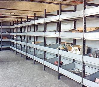 scaffalature metalliche leggere - Torino - Orbassano
