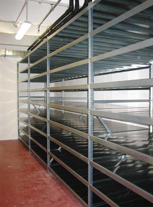 scaffalature metalliche per archivio