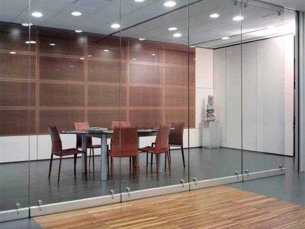 uffici con pareti mobili in vetro - uffici direzionali - sale riunioni