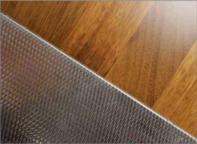 modulo pavimento metallico affiancato modulo laminato plastico