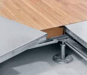 pavimentazione per uffici con pareti mobili