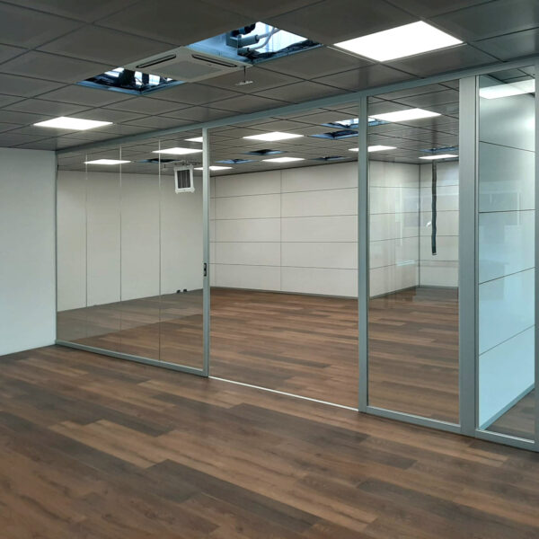 pareti in vetro per uffici