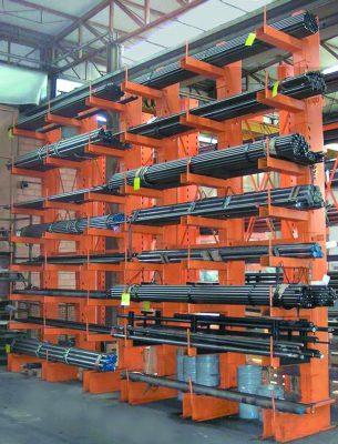 scaffalature industriali cantilever