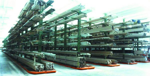 scaffalature industriali cantilever simag