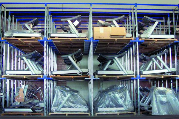 scaffalature industriali drive-in