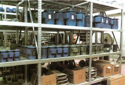 scaffalature industriali in acciaio per prodotti ad alto peso specifico
