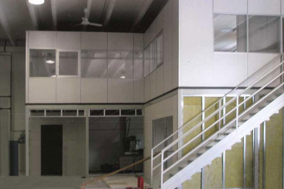 Gabbiotto Per Ufficio : Uffici modulari per interni u2013 idea immagine home