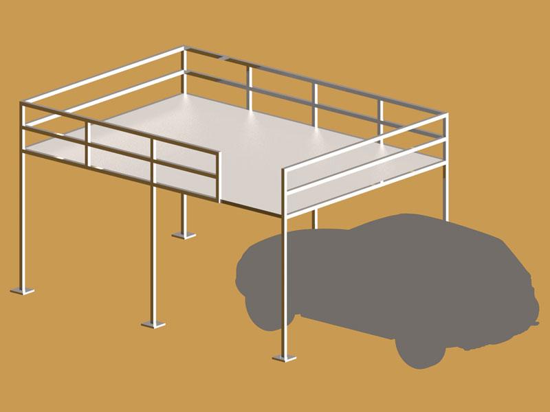 Soppalchi per box auto for 2 box auto con soppalco