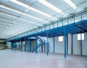 Struttura soppalchi industriali modulari