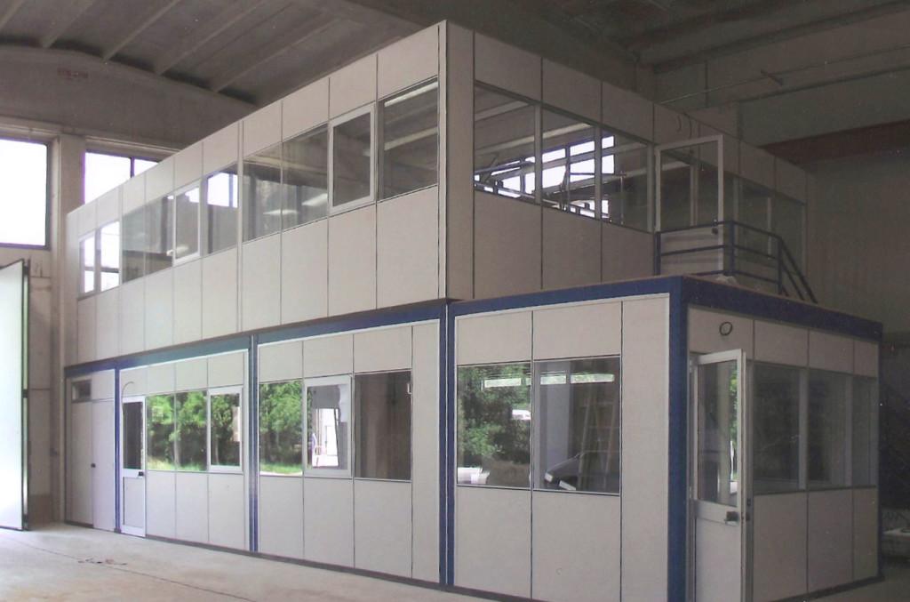 soppalchi per uffici amministrativi tecnici