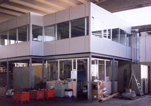 soppalchi per ufficio reception/amministrativo ed uffici tecnici/ direzionali