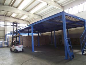 struttura soppalco magazzino 01