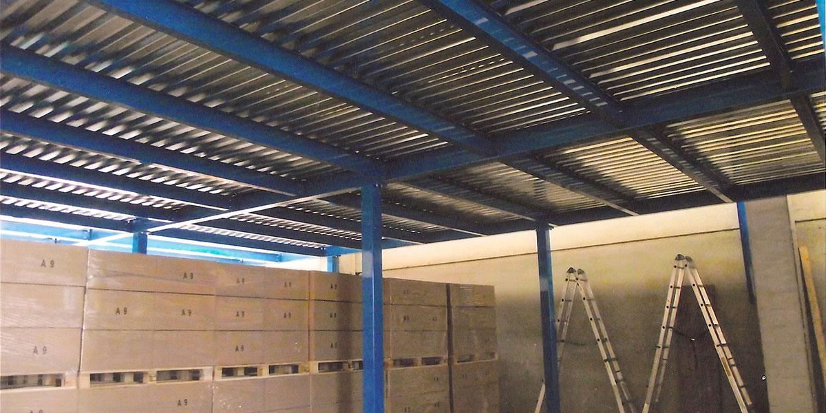 soppalchi carpenteria pesante industriali ampia luce