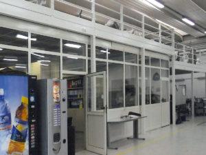 soppalchi modulari per ufficio e magazzino