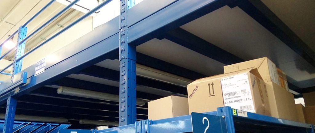 soppalco industriale modulare - usato pari al nuovo - economico