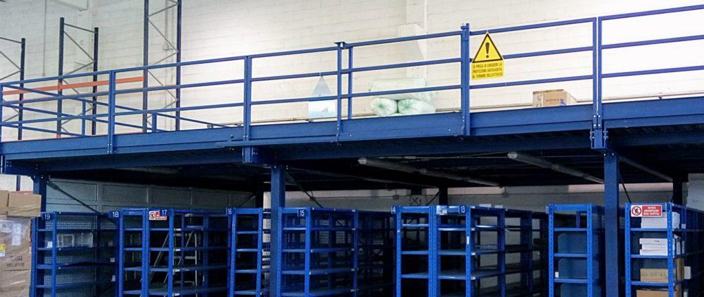 Soppalco industriale usato in carpenteria pesante