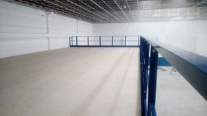 soppalchi magazzino antisismici piano superiore deposito camminamento